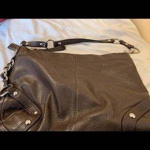 COACH brown leather purse. Gently used